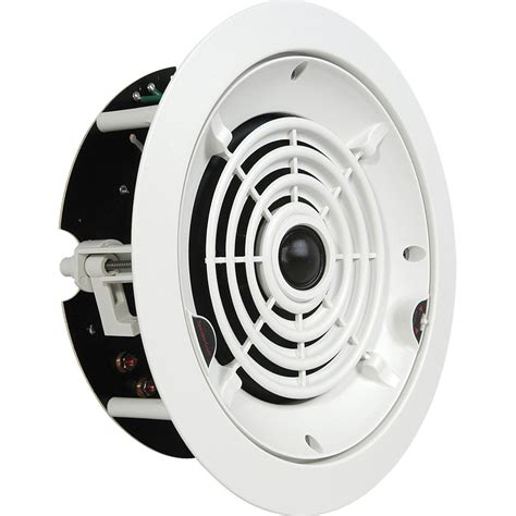 speakercraft crs6 two in ceiling speaker asm86621 b h photo