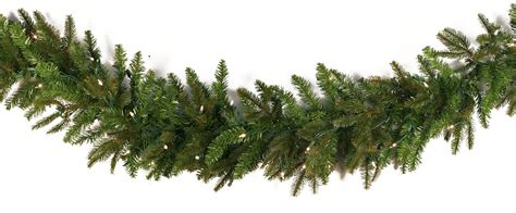 lighted christmas garland fraser fir prelit led