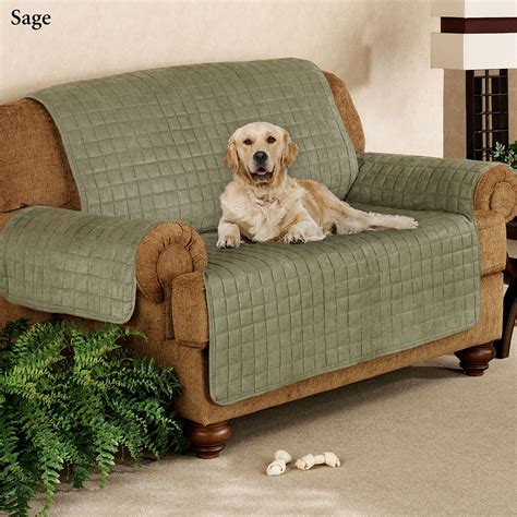 doggie couch covers faux suede pet furniture covers for sofas loveseats and
