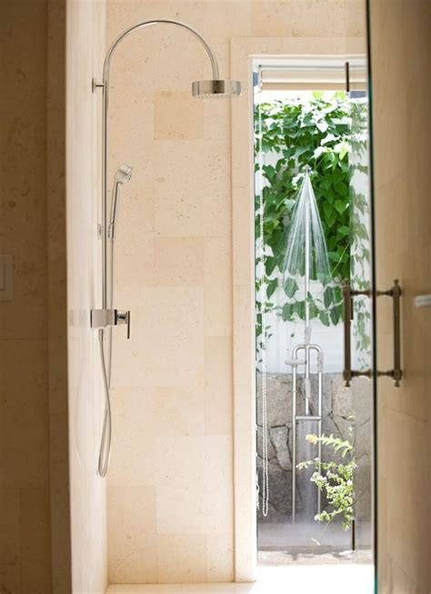 Outdoor Shower Doors 17 Best Images About Compact 3 4 Bath On Pools Small Showers And Bathroom