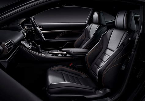 black lexus interior lexus rc 300h f sport black edition to debut at 2018