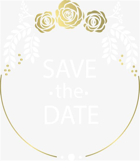 Wedding Card Png by Gold Border Vector Png Wedding Invitation Card Golden