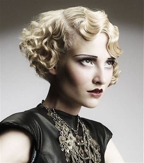 short 20s style curl super short curly hairstyles short hairstyles 2017