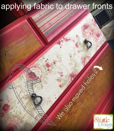 Decoupage Fabric On Wood Furniture - how we decoupage fabric to furniture onto painted furniture