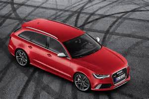 2014 audi rs6 avant front top view egmcartech