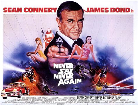 never say never never say never again 1983 sean connery kim
