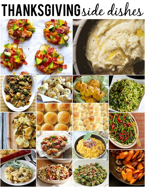 thanksgiving side dishes reasons to skip the housework