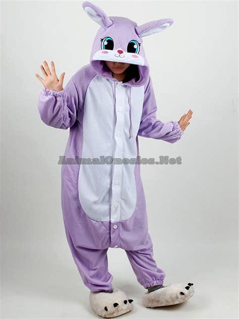 Purple Rabbit purple rabbit onesie purple rabbit costume purple