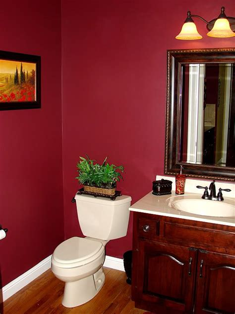 wall color powder room home decor
