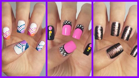 easy nail art for beginners video easy nail art for beginners 15 missjenfabulous youtube