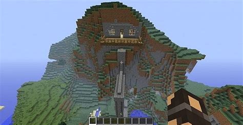 minecraft mountain house designs mountain house minecraft project