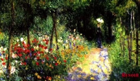 fiori e giardini renoir giardini e fiori in pittura uno splendido