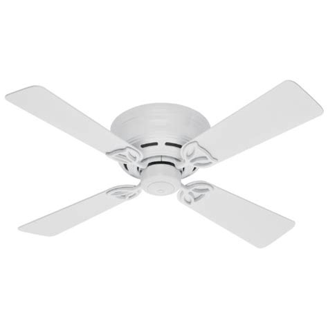 hunter fan blades amazon best prices hunter 23866 lowprofile iii 42 inch 4 white