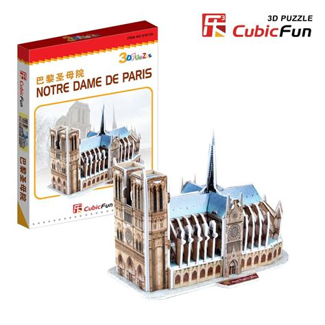 Promo Cubic Puzzle 3d Series Giraffe 3d mini series puzzle our cathedral difficulty 2 8 cubic s3012h 39