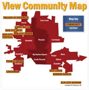 west valley arizona map arizona luxury real estate luxury retirement