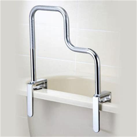 bathtub handrail taiwan safety l shape chrome bathtub grab rail grab bar
