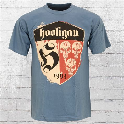 Holligan Shirt jetzt bestellen hooligan t shirt herren shelter