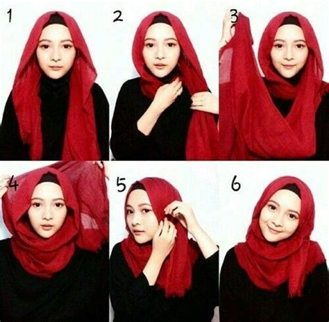 tutorial hijab kekinian 30 best images about hijab styles on pinterest simple