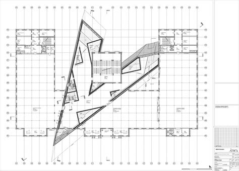 Royal Ontario Museum Floor Plan by Military History Museum Libeskind