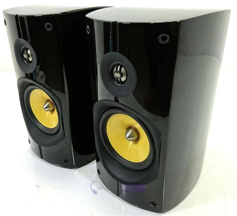 psb imagine b bookshelf hi fi speakers gloss black