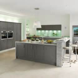 Kitchens With Light Oak Cabinets studio grey kitchen style kitchens magnet trade