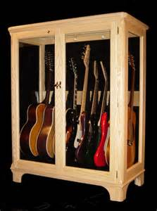 guitar display cabinet