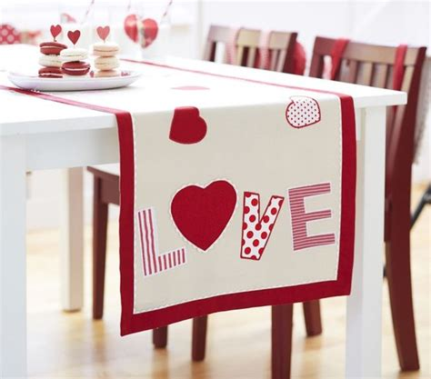 valentines day table runner s day table runner contemporary