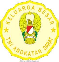 gambar logo stiker tni angkatan darat indonesia kumpulan