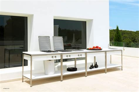 Outdoor Kitchen Table Teak Bar Tables From Viteo