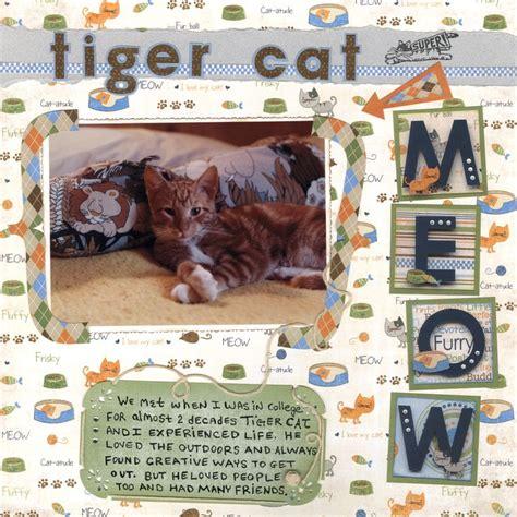 scrapbook layout cat 1230 best animal pets scrapbook layouts images on