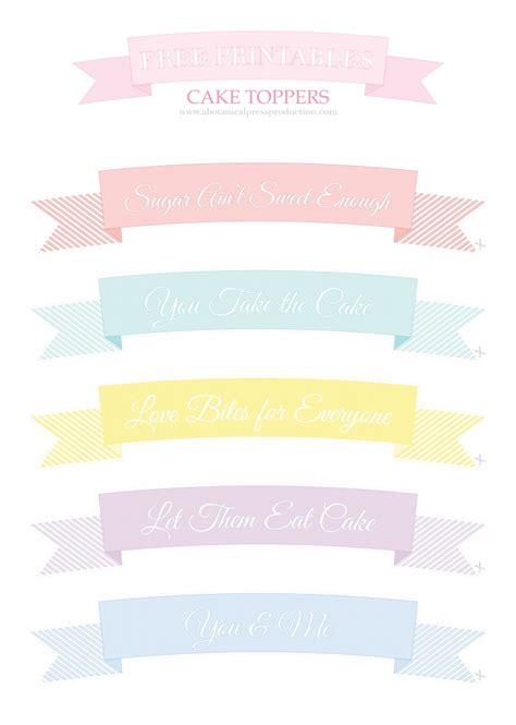 printable birthday banner cake topper 1000 images about printable labels on pinterest
