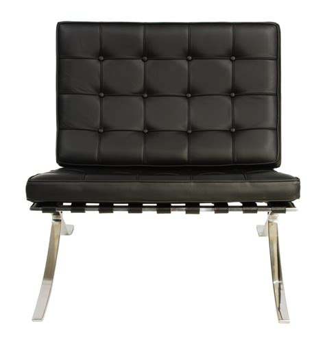 Barcelona Lounge Chair Replica by Replica Mies De Rohe Barcelona Lounge Chair Single