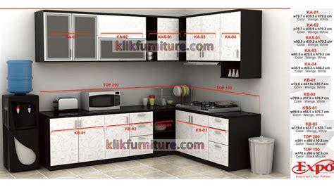 Harga Lemari Tv Merk Expo kitchen set minimalis expo new diskon promo