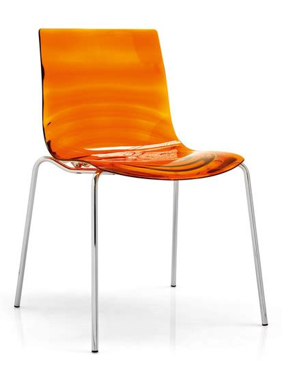 sedie plexiglass calligaris l eau chair by calligaris