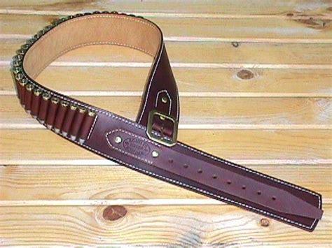 k c leatherworks rifle cartridge belt