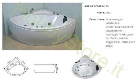 vasca idromassaggio ad angolo vasca idromassaggio ad angolo a021 a 889 00 iva inc