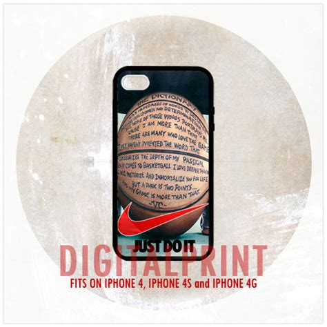 Nike Just Do It Quote Iphone 7 nike just do it basketball quotes iphone 4 4s 4g