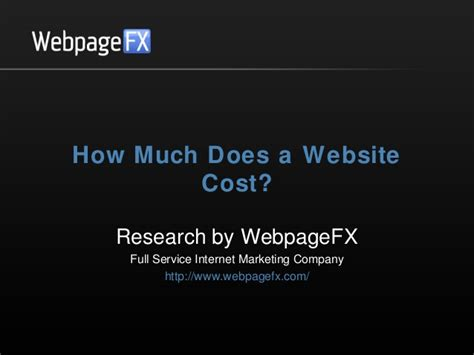 How Much Does It Cost To Get Mba by How Much Does A Website Cost In 2013 2014