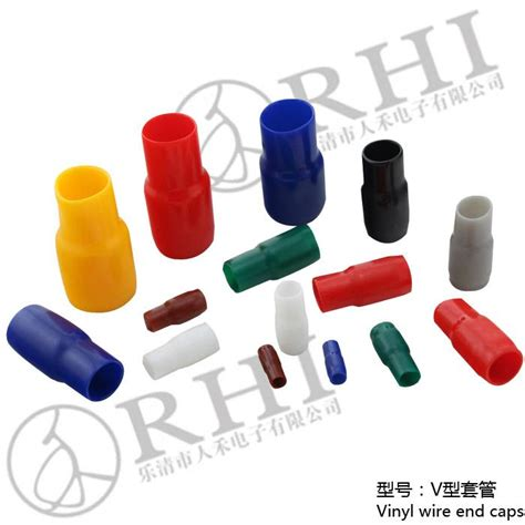 how to cap a live wire v 1 25 v 1 5 cable end caps wire end caps rhi china