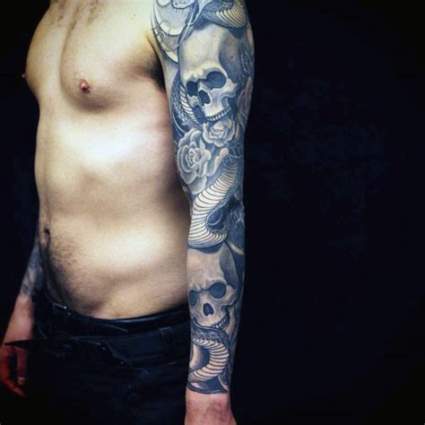 quarter sleeve tattoo male top 100 best sleeve tattoos for men cool designs and ideas