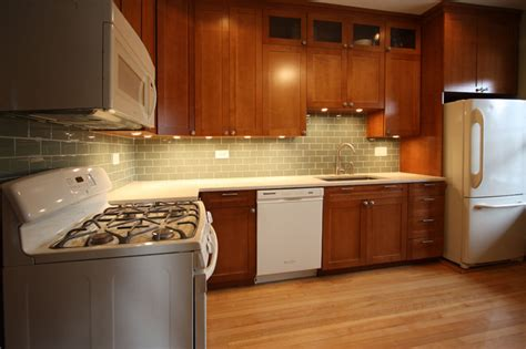 white  cherry wood kitchen remodel contemporary