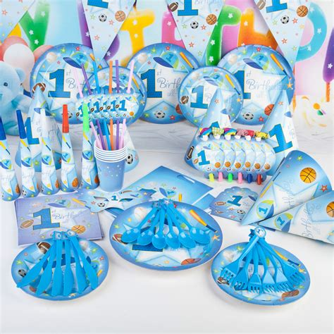 Set Ultah Tema Jungle aliexpress buy 90pcs sports theme boy baby shower