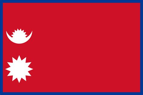 Rectangle by File Flag Of Nepal Rectangular Svg Wikipedia