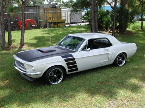 1968 Black Mustang 1968 Mustang Coupe Show Car Resto Mod Classic Ford Mustang 1968 For Sale