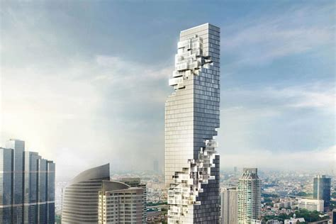 Architectural House Designs by Mahanakhon Ole Scheeren Ideasgn