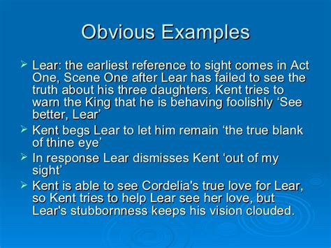 themes in king lear act 3 scene 2 sight and blindness in king lear