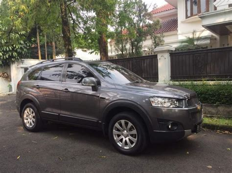 Jual Karpet Mobil Captiva chevrolet captiva diesel at facelift 2013 low km tangan