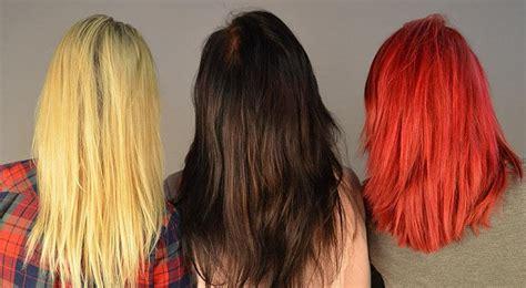 tintes para el cabello diferentes usos tipos y tonos de tintes de pelo precauciones contraindicaciones y