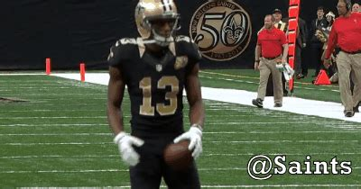 orleans saints michael thomas saints gif find  gifer