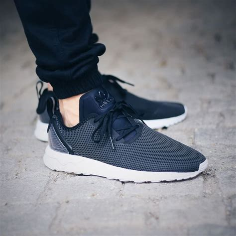 Adidas Zx Flux Adv Smooth Womens White Collegiate Navy 360 best images about sneakers adidas zx flux on